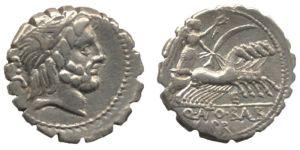 Denarius Circa 82 - 83 BC